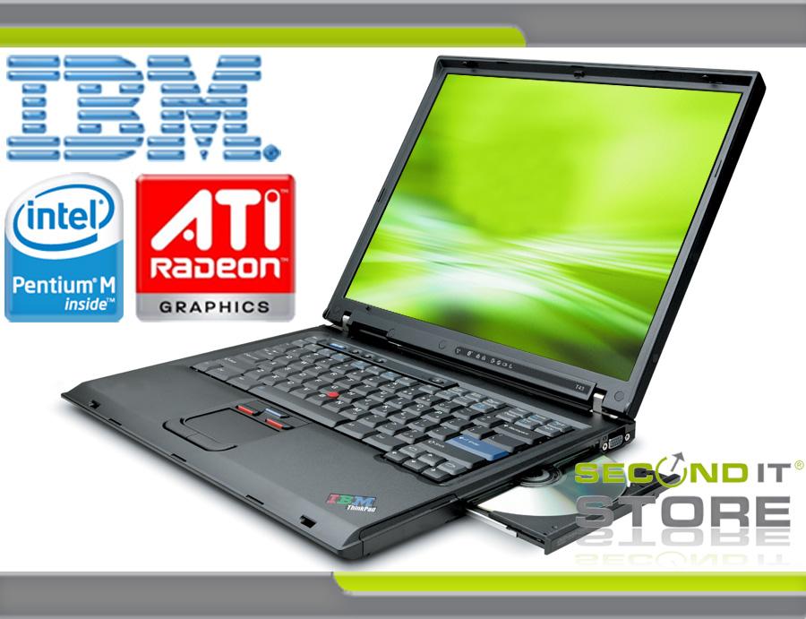 IBM-ThinkPad-T43-Intel-Pentium-M-1-73-GHz-40-GB-HDD-DVD-ROM